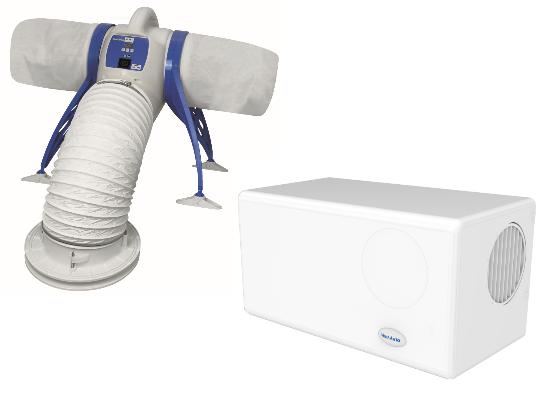 Positive input ventilation servicing